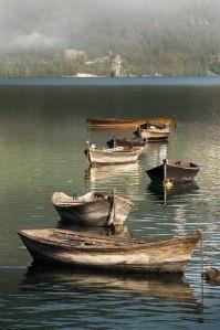 Lago di Santa Croce, Belluno - Italy