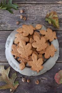 Biscottini a foglia - Autunno